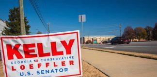 Senator Kelly Loeffler Warns a Democrat Win Is Bad For Republicans