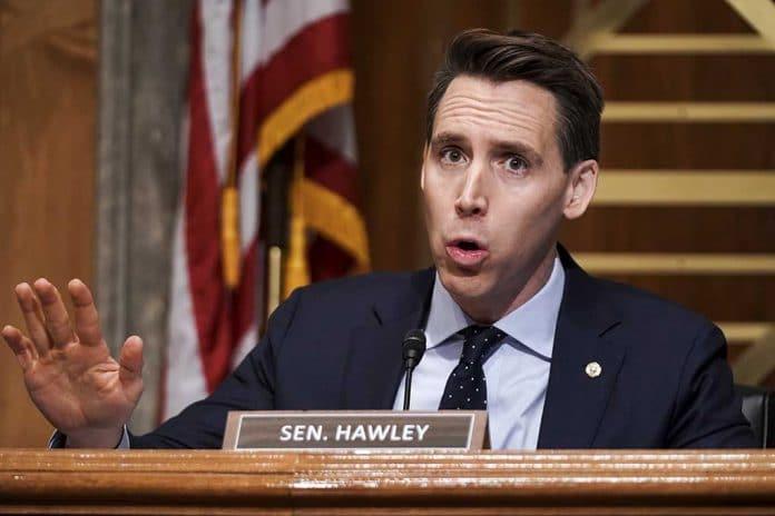 US Senator Josh Hawley Rips Establishment for Targeting Him and Trump Supporters