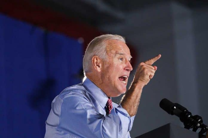 Biden Releases Statement, Sides With McConnell