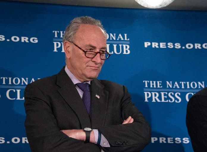 Chuck Schumer Trying to Drum Up Votes for Biden's Failed Nominee