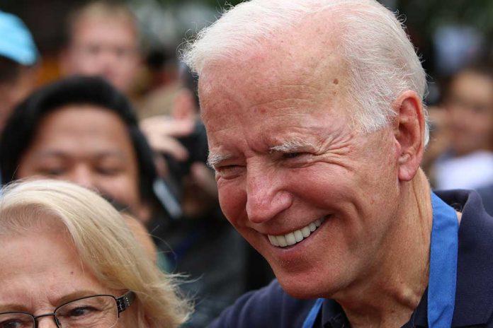 Joe Biden Laughed Off Question About North Korea