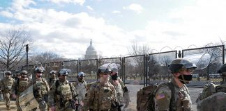 Troops Finally Leaving US Capitol