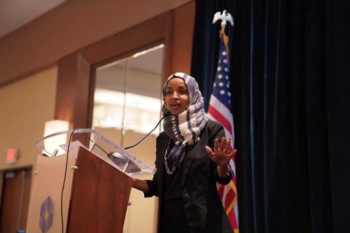 Ilhan Omar Throws Her Fellow Democrats Under the Bus for Exposing Her