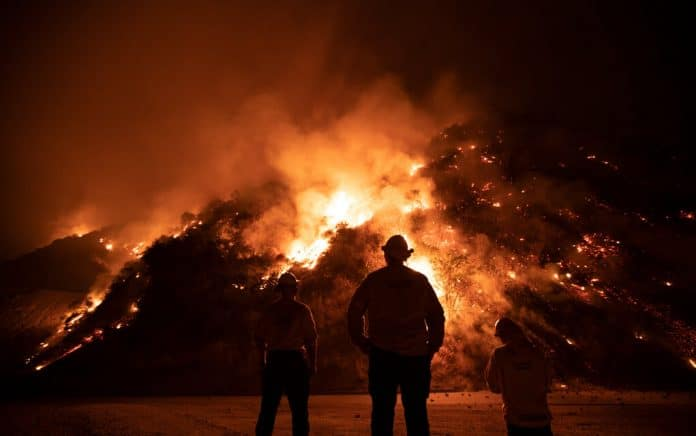 Suspect Charged With Starting Massive Wildfire