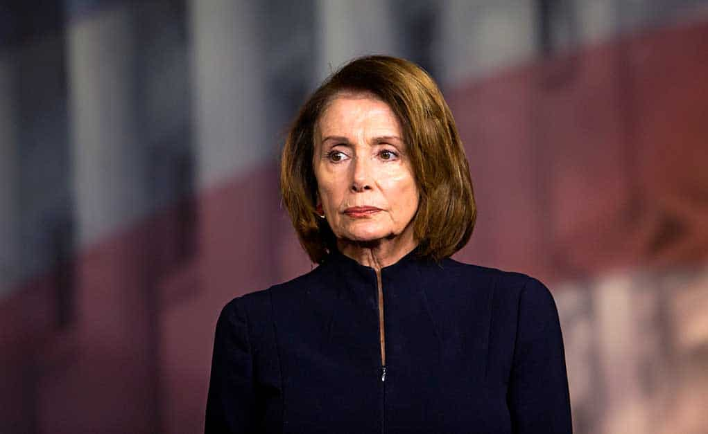 Nancy Pelosi Sends Warning to the Prime Minister of the UK